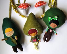 Baby Mobile  Children of the Forest with by PinkCheeksStudios, $120.00