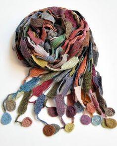 """Милые сердцу штучки: Вязание крючком: """"Шарфы, сумки и бусы от Sophie Di..."""