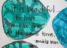 I am bound in chains, Anais... Never free. Never free.