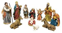 8 Inch Christmas Nativity Scenes Statues 11 Pieces Manager Set Resin Stable Set Nativity Set >>> This is an Amazon Affiliate link. Check out this great product. Nativity Scenes, Christmas Nativity Scene, Tree Stands, Stables, Seasonal Decor, Resin, Seasons, Amazon, Link