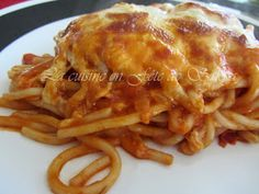 France a dit. Macaroni Recipes, Pasta Recipes, Lasagna, Macaroni And Cheese, Spaghetti, Food And Drink, Chicken, Cooking, Ethnic Recipes