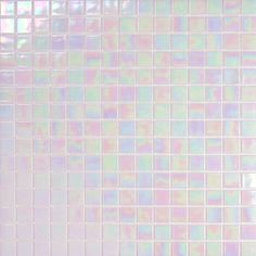 I want these iridescent tiles in my place - love.