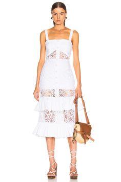 Black Ruffle, White Lace, White Dress, Pop Fashion, Girl Fashion, Funky Fashion, Dress Skirt, Lace Dress, New Dress