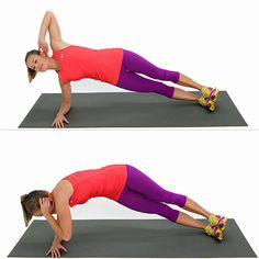 Side Elbow Plank With a Twist