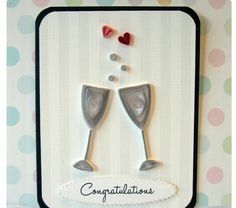 Wedding Wishes Quilled Card @ Rs. 299