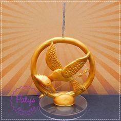 Vela decorada Tordo - Jogos Vorazes