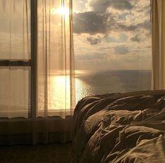 morning beach views cozy