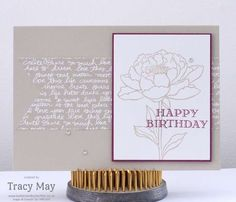 stampin up independent demonstrator Tracy May you've got this make and take card