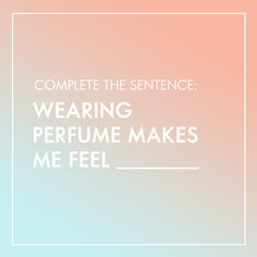 I feel confident and smelling good. How does perfume make you feel? Fm Cosmetics, Oriflame Cosmetics, Cosmetics & Perfume, Body Shop At Home, The Body Shop, Smell Quotes, Oriflame Beauty Products, Perfume Quotes, Dior Perfume