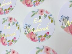 #eidfavours #eidfavors #eiddecor #eidstickers #shinebrightstickers Eid Mubarak Stickers, Eid Stickers, Framed Wallpaper, Screen Wallpaper, Eid Favours, Ramadan Crafts, Couture Fashion, Pink And Gold, Allah