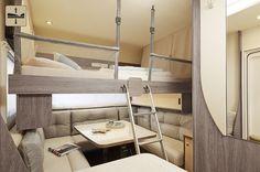 Das Hubbett im Premio plus (oben)