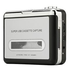 Reshow Cassette Player – Portable Tape Player Captures MP...
