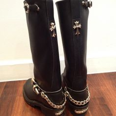 chrome hearts boot