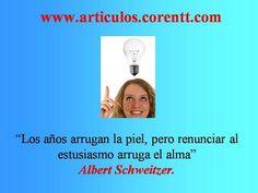 Vive con entusiasmo, encuentra aquellos proyectos por los cuales consideres que vale la pena vivir. http://articulos.corentt.com