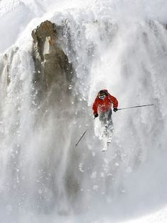 Bucket list...out run an avalanche