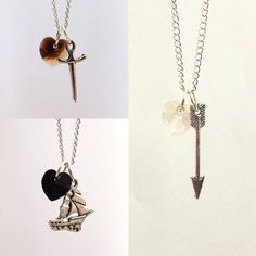 Once Upon A Time Character Necklaces by KDDezsigns on Etsy