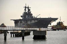 USS Wasp LHD 1