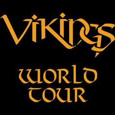 Vikings World Tour is a T Shirt designed by Quicky to illustrate your life and is available at Design By Humans