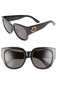 91160537b67 Gucci Gucci 55mm Square Cat Eye Sunglasses available at  Nordstrom Latest  Sunglasses