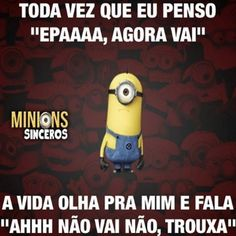 minions sinceros - Pesquisa Google Frases Humor, Sarcasm Humor, Funny Quotes, Funny Memes, Jokes, See You Soon, Try Not To Laugh, Minions Quotes, Words Quotes