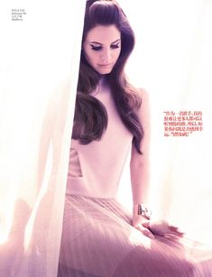 Lana Del Rey for Vogue China, January 2013. Photograph by Wee Khim.