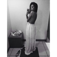 Beautiful Backless Dress Fashion