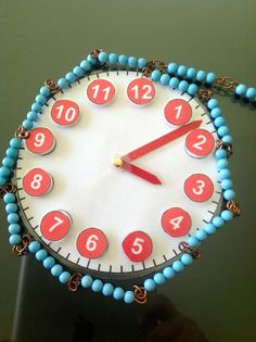 Such great ideas for hands-on telling time LEARNING fun.