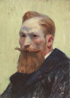 Edward Hopper - Man with Beard (1941)