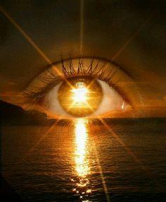 #abstrato #surreal ☆ * #Arte #Ilustração * #Olhos #Visão ☆ #PorTodosÂngulos ☆ * #Alvorecer *