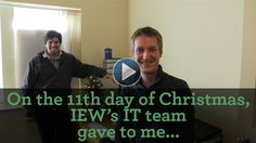 On the 11th day of Christmas, IEW gave to me...
