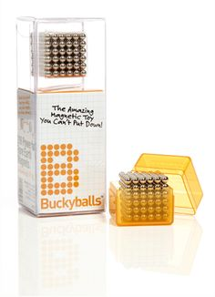 $34.95 Buckyballs! If i had a desk... i'd totally want these to play with all day at work.