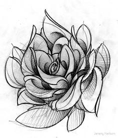 (notitle) - Tattoo ideen - Tattoo World Rose Tattoos, Flower Tattoos, Black Tattoos, Body Art Tattoos, Rose Flower Photos, Flower Art, Flowers, Et Tattoo, Tattoo Fonts