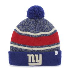 New York Giants Fairfax Cuff Knit Royal 47 Brand Hat New York Giants Logo faf0eab8e