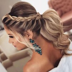 The Best 45 Wedding Hairstyles That Will Be Worn For A Celebration This Year – Page 22 of 45 wedding hairstyles; wedding hairstyles half up half down; wedding hairstyles for long hair; wedding hairstyles medi Source by Wedding Hairstyles Half Up Half Down, Wedding Hairstyles For Long Hair, Bride Hairstyles, Hairstyles For Dresses, Hairstyles For Weddings Bridesmaid, Hairstyles For Medium Length Hair, Bridesmaid Hair Updo Braid, Hairstyles 2018, Hair Updos For Weddings Guest