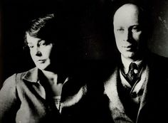 Sergei and his wife Lina in Moscow in 1927