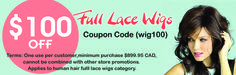 """Get #Discount on Purchasing #Wigs from #Hair & #Beauty #Canada $10 OFF on Minimum Purchase $99.95 CAD - Use Code """"WIG10"""" $25 OFF on Minimum Purchase $150 CAD - Use Code """"WIG25"""" $100 OFF on Minimum Purchase $899.95 CAD - Use Code """"WIG100""""  #humanhairwigs   #wigscanada   #hairextensions   #haircare"""