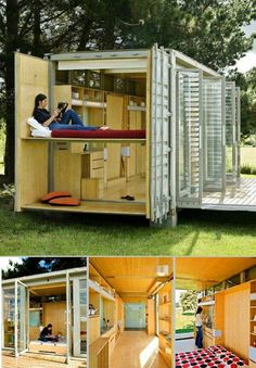 Container home.