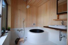 Goemonburo / Choshu bath. 五右衛門風呂(ごえもんぶろ)(長州風呂)