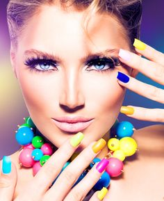123RF - Millions of Creative Stock Photos, Vectors, Videos and Music Files For Your Inspiration and Projects. Nail Technician Courses, Nail Art Designs, Nail Art Courses, Advanced Beauty, Girls Makeup, Cover Girl Makeup, Perfect Makeup, Tips Belleza, Nail Tutorials