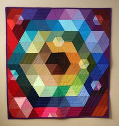 Patchwork Prism is Complete by PileOFabric,