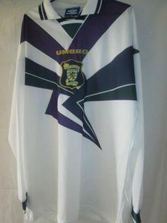 Scotland-1995-1996-Player-Issue-Away-Football-Shirt-Size-XL-14370