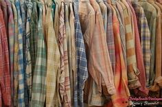 Mystery Flannel Shirts OverSized Button Up Unisex Vintage Flannels - Pick Your Size by DirtySouthVintagee on Etsy