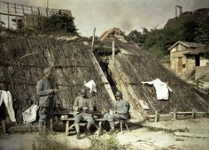 French troops relaxing