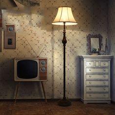 New Floor Lamps Vintage Luxurious Bedroom Design Led Bulb Lamp E27  110V 220V Modern Floor