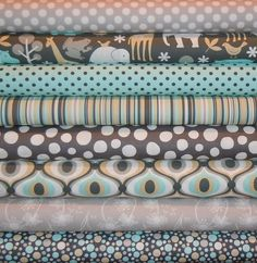 aqua and gray quilts - Google Search