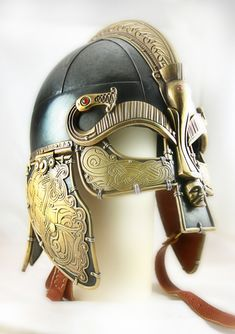 Viking Armor, Ancient Armor, Viking Helmet, Arm Armor, Medieval Armor, Medieval Fantasy, Vikings, Leather Quiver, Chainmail Armor