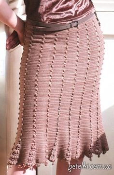 Crochet simple skirt ♥LCS-MRS♥ with basic diagrams.