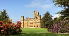 Highclere Castle--Setting for Downton Abbey