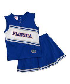 0da708b5 Take a look at this Florida Cheerleading Top & Skirt - Toddler &  Girls