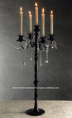 5-light Wedding Candelabra,5-light Black Candelabra,Wedding Centerpiece - Buy 5-light Wedding Black Centerpiece,5-light Hanging Crystals Candelabra,5-light Black Decorative Candelabra Product on Alibaba.com